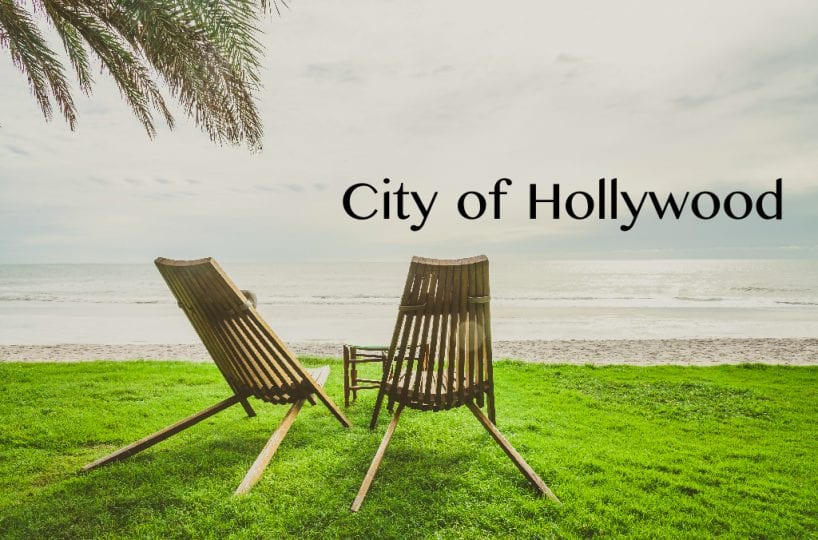 generic background with name of the city